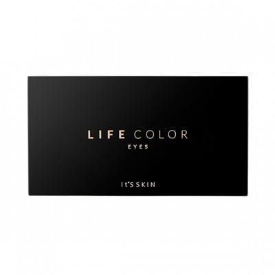 Палетка теней для глаз It's Skin Life Color, тон 02, розовая, 1,8г*6,: фото