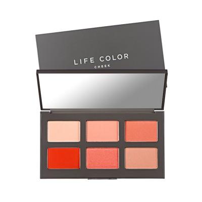 Палетка румян It's Skin Life Color, тон 01, красная, 2г*6: фото