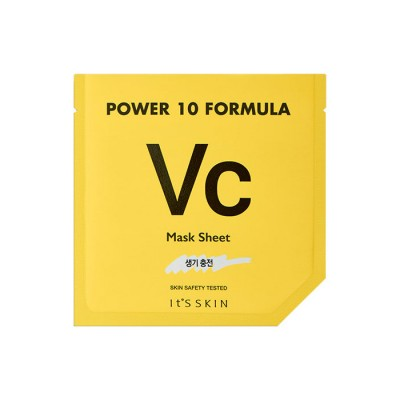 Тканевая маска тонизирующая It's Skin Power 10 Formula Mask Sheet VC 25мл: фото