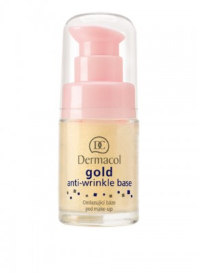 База под макияж Dermacol Gold Anti-Wrinkle Base: фото