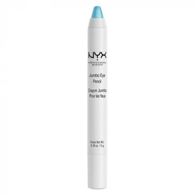 Карандаш для век NYX Professional Makeup Jumbo Eye Pencil – BABY BLUE 606: фото