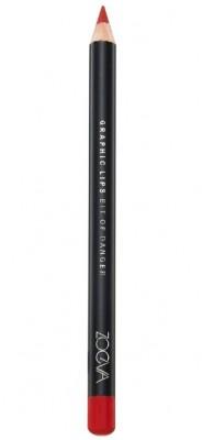 Карандаш для губ Zoeva GRAPHIC LIPS Bit Of Danger: фото