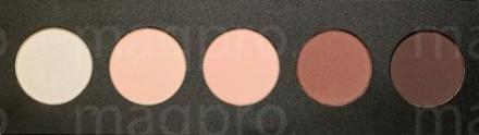 Компактные тени палитра Maq Pro fard sec. Свадебная-чайная роза: фото