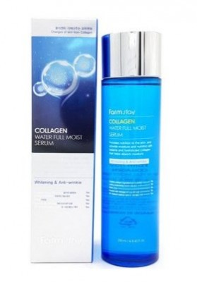 Сыворотка увлажняющая с коллагеном FARMSTAY Collagen water full moist serum 250 мл: фото