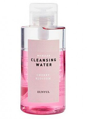 Мицеллярная двухфазная вода с вишневым цветом EUNYUL Micellar cleansing water cherry blossom 500 мл: фото