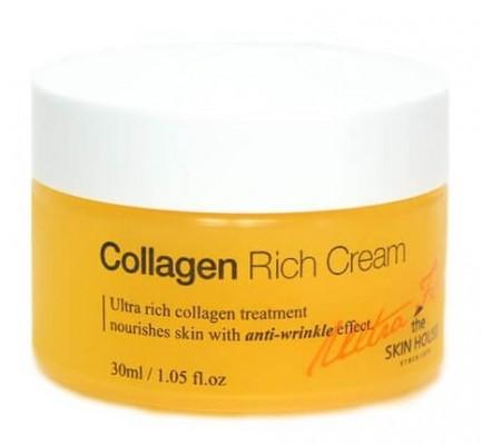 Крем от морщин питательный коллагеновый THE SKIN HOUSE Ultra firming collagen rich cream 30мл: фото