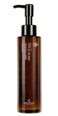 Мицеллярная вода с экстрактом риса THE SKIN HOUSE Rice active cleansing water 150 мл: фото