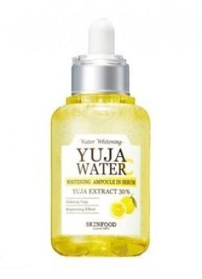 Сыворотка осветляющая ампульная с витамином С SKINFOOD Yuja Water Serum: фото