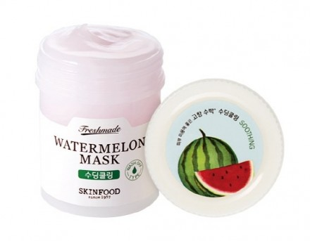 Маска с экстрактом арбуза SKINFOOD Freshmade Watermelon Mask: фото