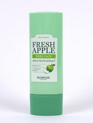 Маска для лица с экстрактом зеленых яблок SKINFOOD Fresh Apple Pore Pack: фото