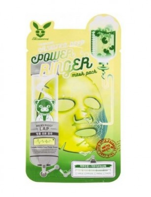 Маска тканевая с центеллой азиатской ELIZAVECCA Centella Asiatica Deep Power Ringer Mask Pack: фото
