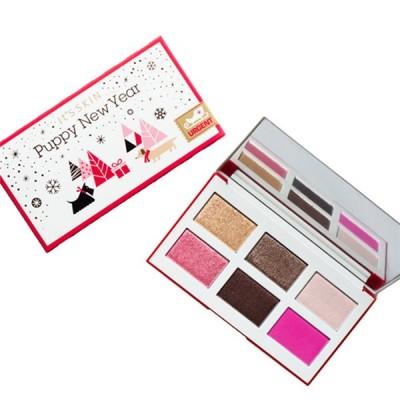 Палетка теней для глаз It's Skin Life Color Palette Puppy New Year розовая 10,2г: фото