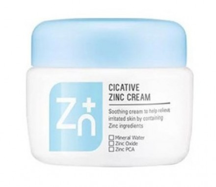 Крем с оксидом цинка для проблемной кожи A'PIEU Cicative Zinc Cream 55мл: фото