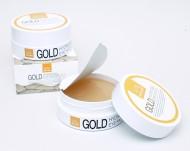 Гидрогелевые патчи маски в виде лепестков под глаза с золотом Misoli: фото
