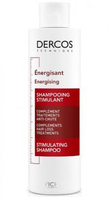 Шампунь тонизирующий против выпадения волос VICHY DERCOS AMINEXIL 200мл: фото