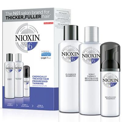 Набор 3х-ступенчатая система XXL-формат Nioxin System6 300+300+100 мл: фото