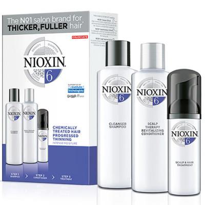 Набор 3х-ступенчатая система Nioxin System6 150+150+40 мл: фото