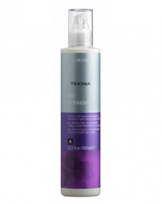 Гель для гладкости непослушных или химически выпрямленных волос LAKMÉ STRAIGHT GEL 300мл: фото