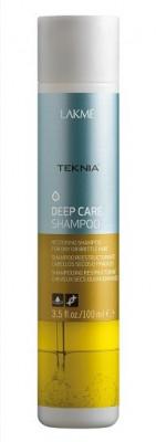 Шампунь восстанавливающий для сухих и поврежденных волос LAKMÉ DEEP CARE SHAMPOO 100 мл: фото