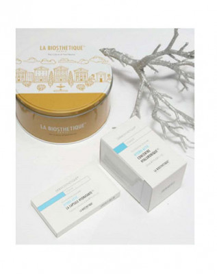 Набор в круглой жестяной коробке La Biosthetique Dermosthetique Hydro-Actif Hydro beauty set: фото