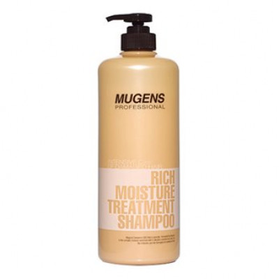 Шампунь для волос Welcos Mugens Rich Moisture Treatment Shampoo 1000g: фото