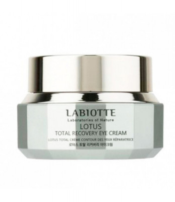 Крем для глаз восстанавливающий LABIOTTE LOTUS TOTAL RECOVERY EYE CREAM 30мл: фото