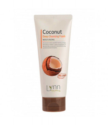 Пенка очищающая кокосовая Welcos Natural Therapy Lynn Coconut Deep Cleansing Foam 120г: фото
