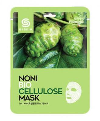 Маска тканевая с экстрактом нони Berrisom G9 SKIN NONI Biocellulose mask 25г: фото