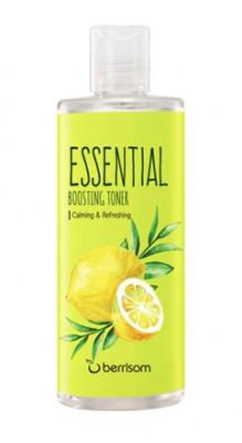 Тонер для лица успокаивающий Berrisom Essential Boosting Toner Tee Tree & Lemon 265мл: фото