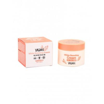 Крем для лица осветляющий YADAH WHITE BOOSTING CREAM 50мл: фото