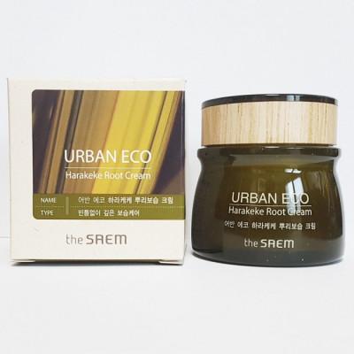 Крем для глаз с экстрактом корня новозеландского льна THE SAEM Urban Eco Harakeke Root Eye Cream 30мл: фото
