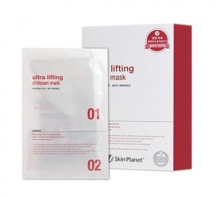 Маска для лица с лифтинг эффектом Mijin Skin Planet ULTRA Lifting Chitosan mask 26гр: фото