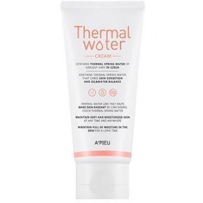 Крем для лица увлажняющий с термальной водой A'PIEU Thermal Water Cream 80мл: фото