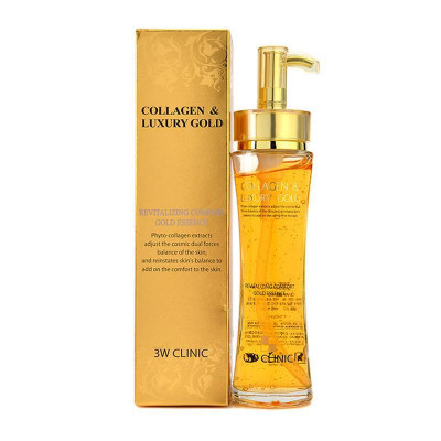 Эссенция для лица 3W CLINIC Collagen & Luxury Gold Revitalizing Comfort Gold Essence: фото