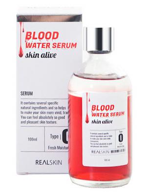 Сыворотка для лица REALSKIN Blood Water Serum 100мл: фото