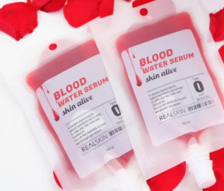 Сыворотка для лица REALSKIN Blood Water Serum, рефил 100мл: фото