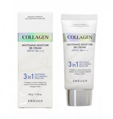 ВВ-крем с морским коллагеном ENOUGH Collagen 3 in1 Whitening Moisture BB Сream SPF47 PA+++: фото
