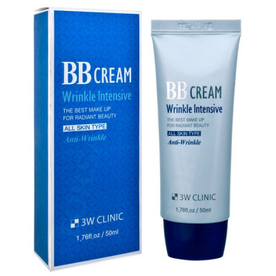 BB-крем Омолаживающий 3W CLINIC Wrinkle Intensive BB Cream 50мл: фото