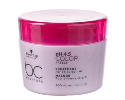 Маска для окрашенных волос Schwarzkopf Professional BC pH 4.5 Color Freeze 200 мл: фото