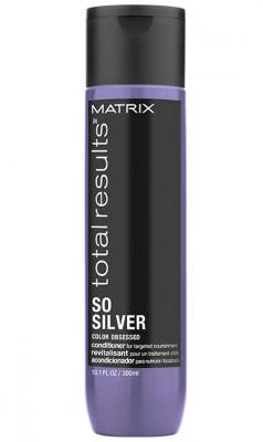 Кондиционер для окрашенных волос блонд MATRIX Total Results Color So Silver Conditioner 300мл: фото