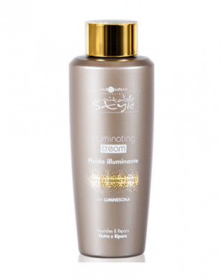 Крем для придания блеска Hair Company INIMITABLE STYLE Illuminating Cream 250мл: фото