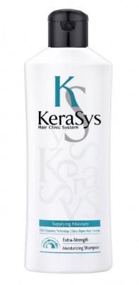 Шампунь увлажняющий для сухих и ломких волос KeraSys 180 мл: фото