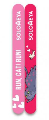 Набор пилок для натуральных и искусственных ногтей Solomeya Run, Cat! Run! 74 г*2: фото