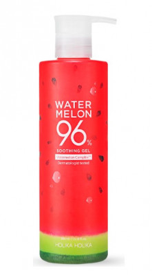 Гель для лица и тела с экстрактом арбуза Holika Holika Water Melon 96% Soothing Gel 390 мл: фото