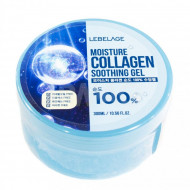 Гель универсальный с коллагеном Lebelage Soothing Gel Moisture Collagen 100% 300 мл: фото